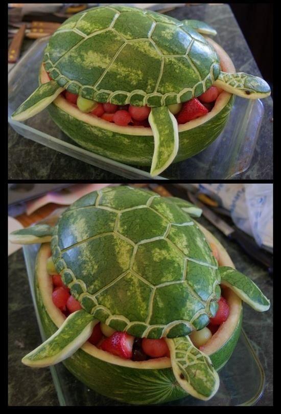 Présentations fruits et légumes ludiques