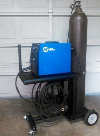 MIG Welder cart