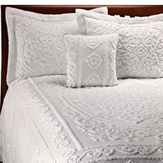 433 best Chenille images on Pinterest Chenille bedspread