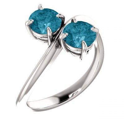 Platinový zásnubný prsteň osadený Topaz-Gen  - https://www.smgold.sk/p/1677/mszpl001