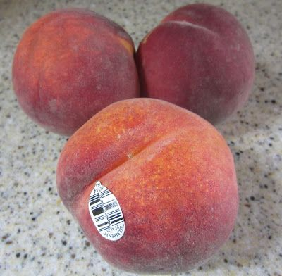 My Patchwork Quilt: HOW TO FREEZE FRESH PEACHES