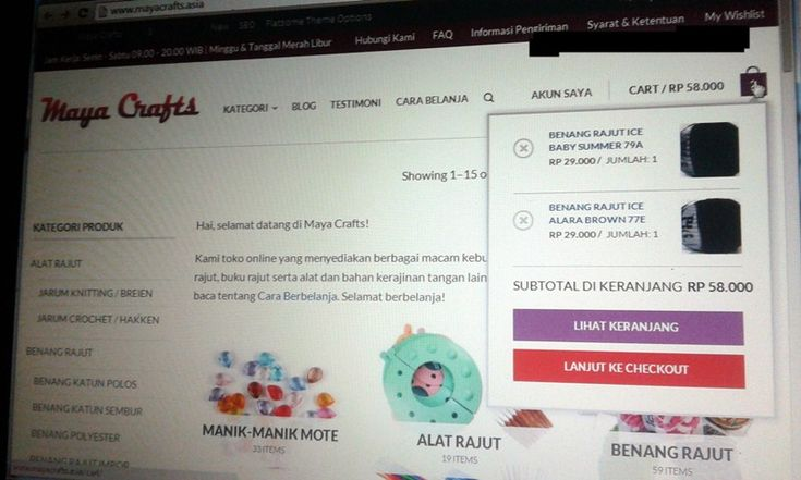 Tips Belanja Alat dan Benang Rajut Online