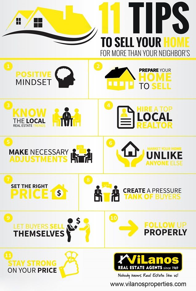 11 Tips to sell your Home!!!