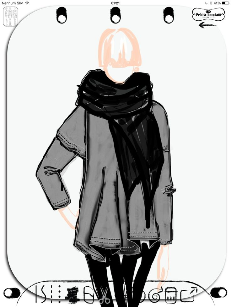 Fashion Sketch App Pret -à- Template (Free Download Available on the ...