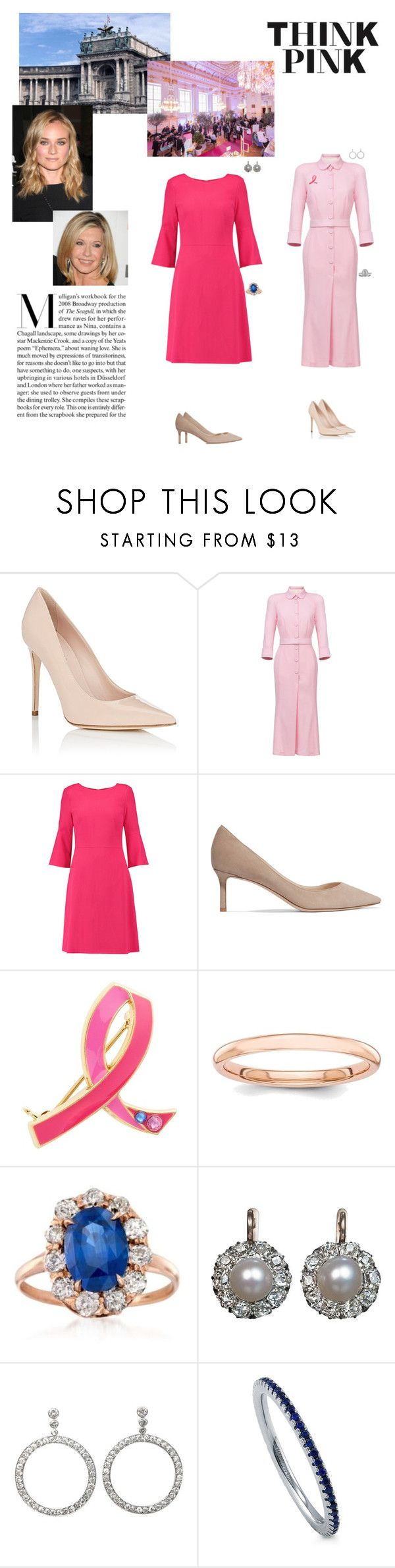 """""""(E&H) HI&RAM The Empress & HI&RH Archduchess Helena host a Reception in honour of Breast Cancer Awareness Month at the Hofburg 06-10-2017"""" by vanessa-von-osterreich ❤ liked on Polyvore featuring Barneys New York, Ulyana Sergeenko, Goat, Jimmy Choo, Estée Lauder, Ross-Simons, Boucheron, BERRICLE and Mark Broumand"""