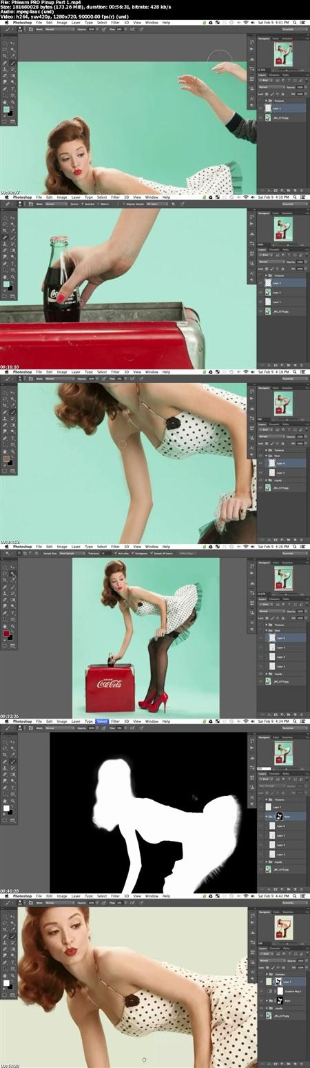 Phlearn - Pro Photoshop Tutorial : PRO Pinup Cola