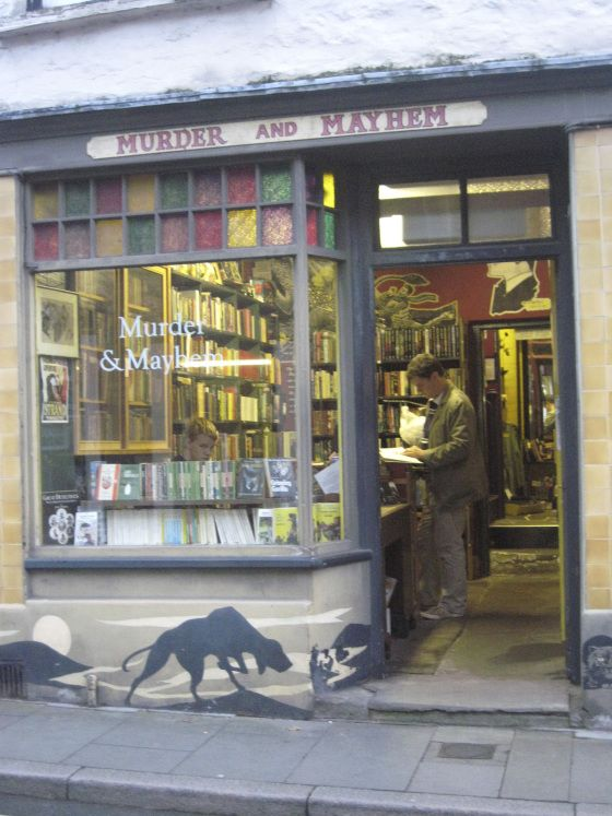 Hay-on-Wye famous for its annual literary festival is also filled with all sort of bookshops.