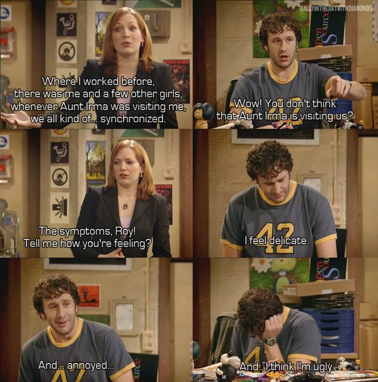 IT Crowd - Roy feels delicate--oh, this is one of the funniest episodes of all time!