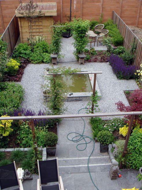 Meer dan 1000 afbeeldingen over buiten tuin op pinterest for Voorbeeldtuinen kleine tuin