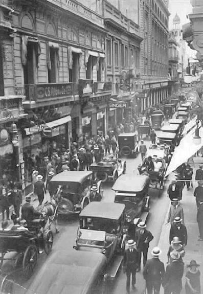 CALLE FLORIDA año 1925, Buenos Aires