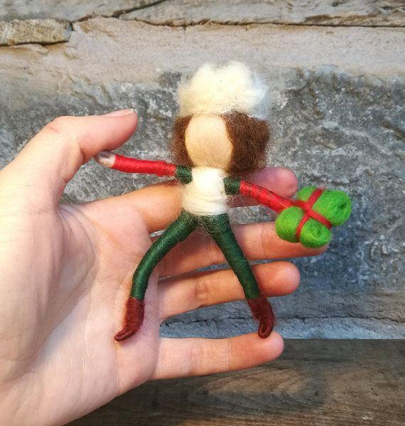 Christmas elf doll Santa doll magic elf boy gift for boy