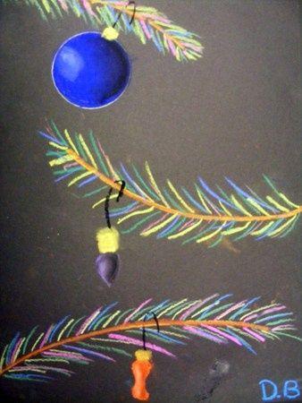 winter art lesson | Danica16's art on Artsonia | CHRISTMAS/WINTER ART ACTIVITIES