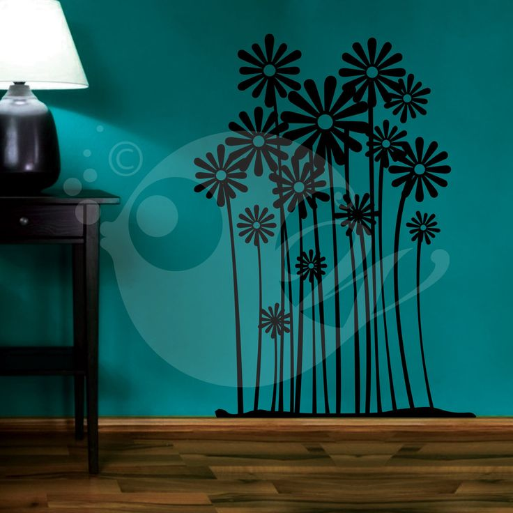 With this Flower Farm Wall Sticker Decal you can decorate your walls in one of the most modern and elegant ways