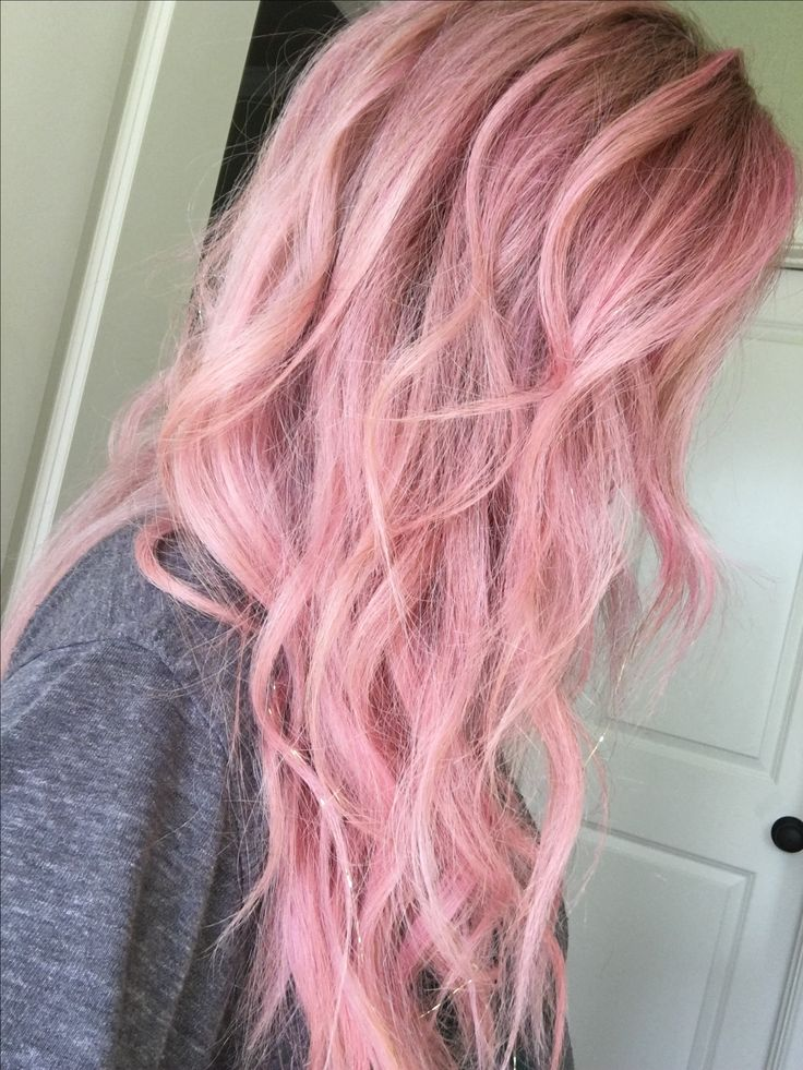 L'Oréal Colorista in Pink (200) and Soft Pink (300). #hair ...