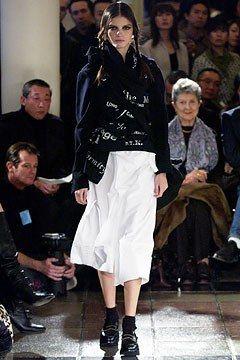 Comme des Garçons Fall 2003 Ready-to-Wear Fashion Show - Rei Kawakubo, Jeisa Chiminazzo