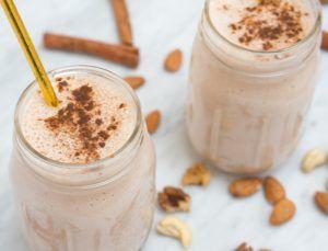 Almond Milk Horchata Shake