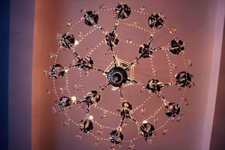 #casaloma #chandelier #photography #toronto #discoverontario #canada #castle