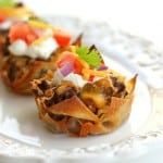 Double Decker Taco Cupcakes - the-girl-who-ate-everything.com