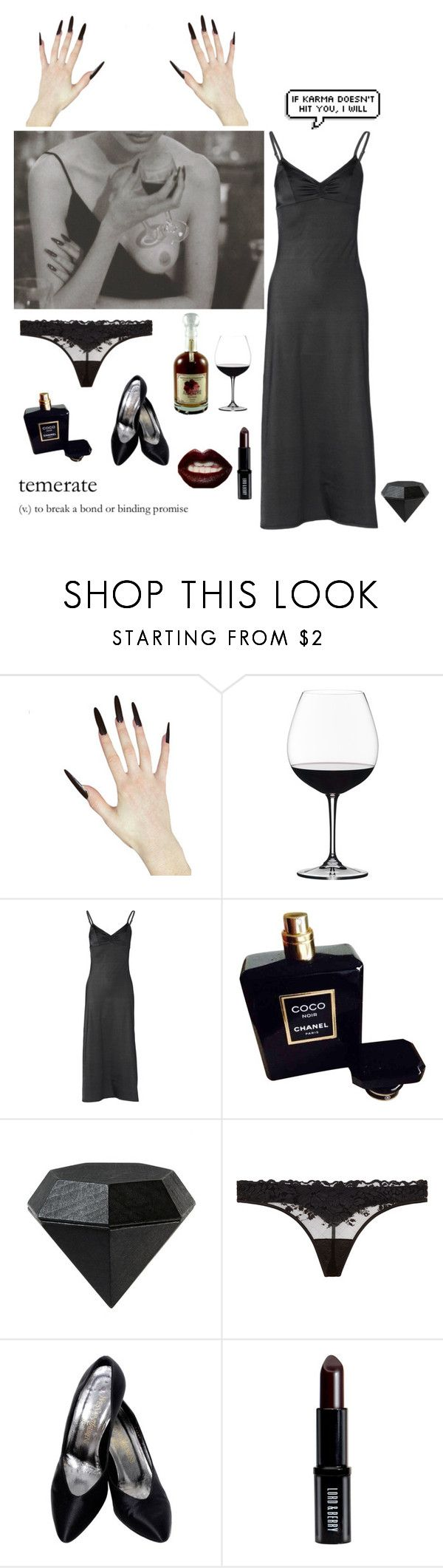 """Careful, Cats have claws"" by missmoonchild ❤ liked on Polyvore featuring Riedel, Only Hearts, Chanel, Areaware, La Perla, TEM, Yves Saint Laurent, Lord & Berry and Manic Panic NYC"