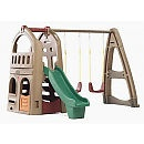 Plastic Swing Sets - Swing Sets, Slides
