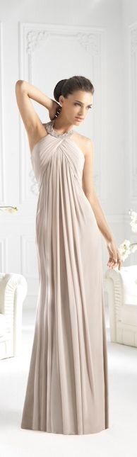 Love that something like this could be worn post-bump too. :)   2015 La Sposa