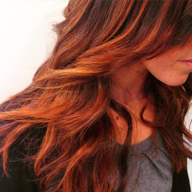 Nice #blendig #firedhair #chiarahairstyle #oouuyyess #hairstyle #hairdres #haircolor