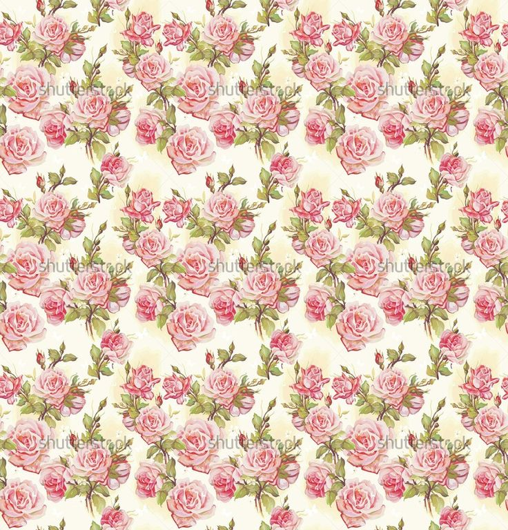 Example image of Beautiful seamless floral pattern, flower ...