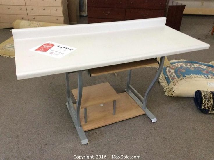 Desk Counter top would make a great workbench and the base comes FREE. Bid now!