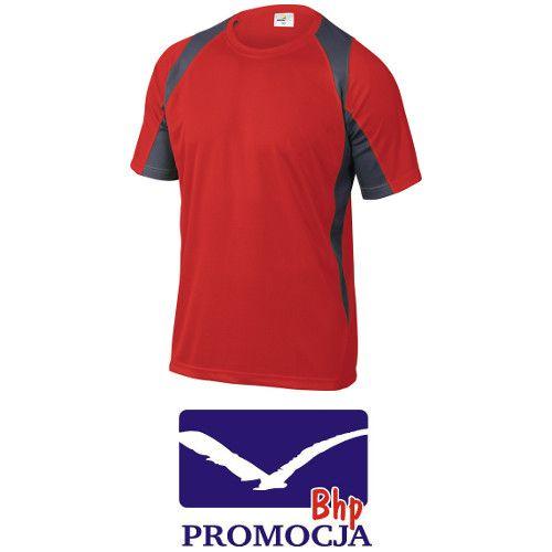 Koszulka T-shirt termoaktywna BALI czerwona 3XL