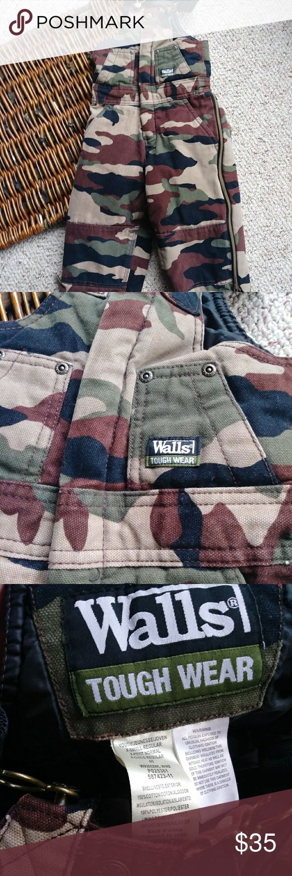 walls camo bibs insulated camo bibs in excellent condition on insulated hunting coveralls walls id=44687