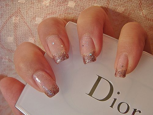 I'm not into long nails at all, but I love this.