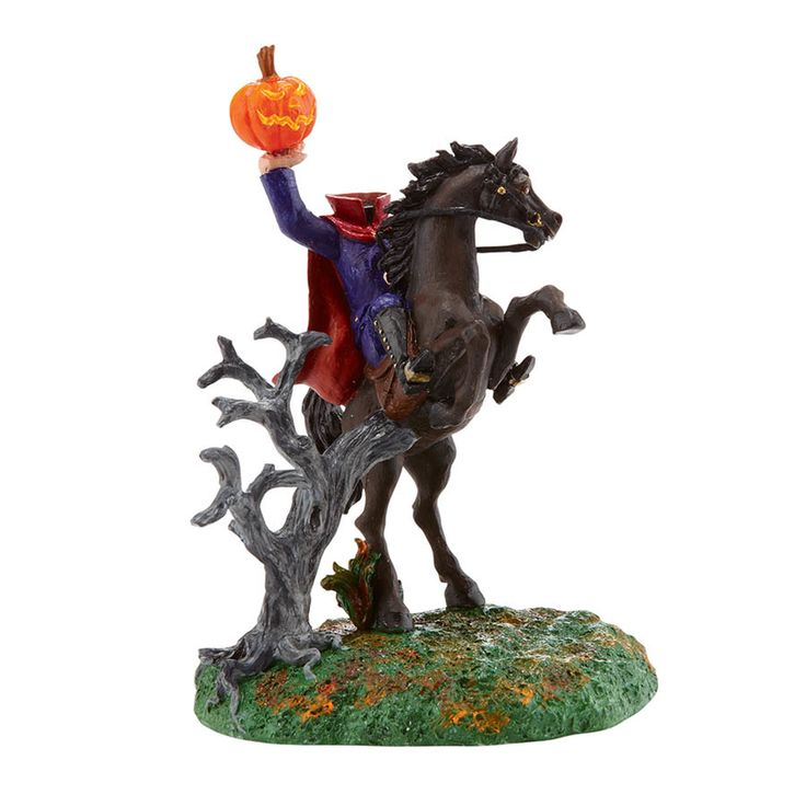 Halloween Snow Village from Department 56 The Headless Horseman