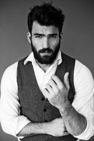 Admirable 1000 Images About Beards And Staches On Pinterest Short Hairstyles Gunalazisus