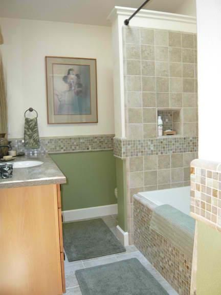 Earth Tone Bathroom 2