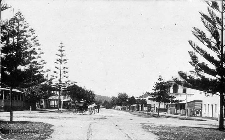 Port MacQuarie in New South Wales in 1908.