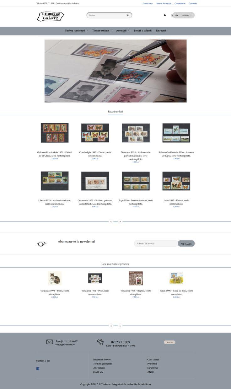 www.e-timbre.ro - Magazin Online timbre si accesorii pentru timbre