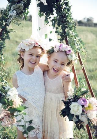 #flowergirls