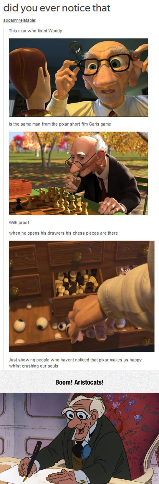 Disney/Pixar's Old Man
