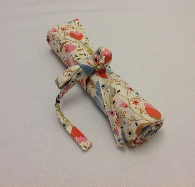 Bunny's Garden Pencil Roll £7.50