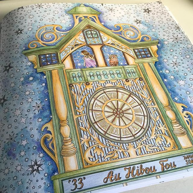 40 Best The Time Garden Adult Coloring Book Completed Pages