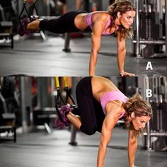 Do this fat-burning workout routine to get a toned and sculpted body. These TRX exercises will tighten your entire body and burn fat fast. Try these intense exercises to see results and get your body in shape.