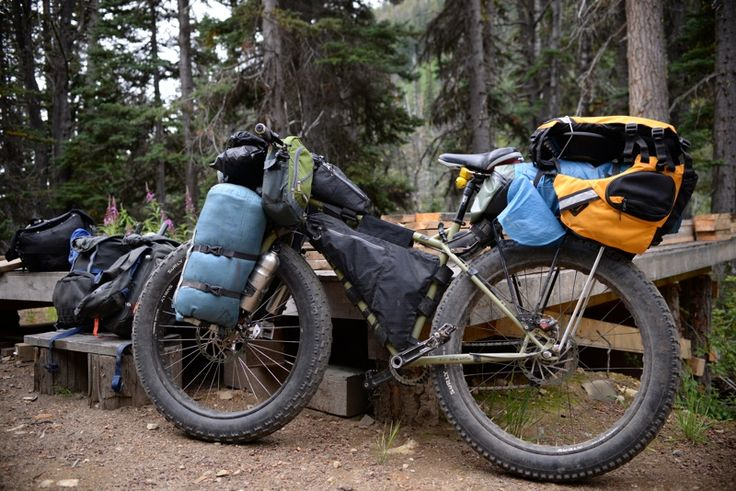 Fat Bike Bikepacking Touring Amp Bikepacking By Bicycle