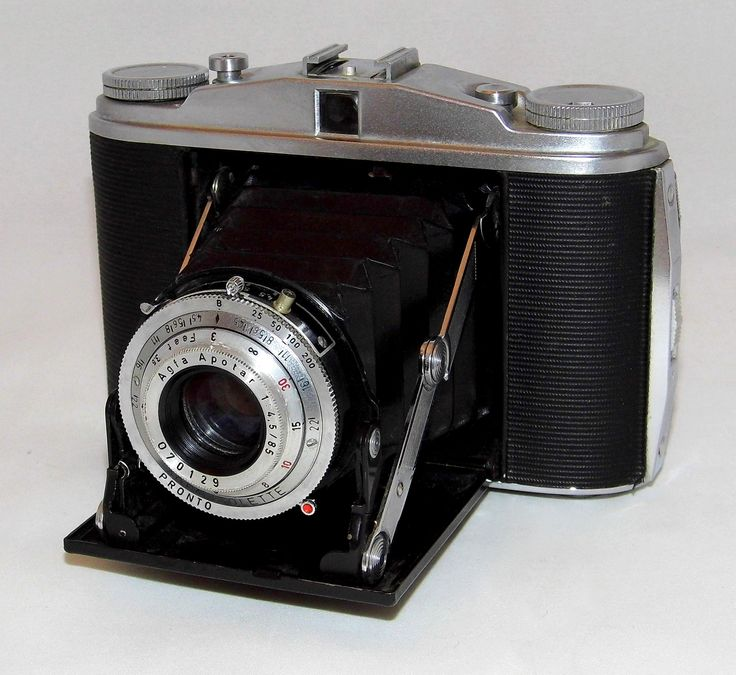https://flic.kr/p/W3FguW | Vintage Agfa Isolette II Folding Camera, Uses 120 Film, Apotar 85mm Lens, Made In Germany, Circa 1950s | Auction Item 109 - To be auctioned by Cledis Estes Auctions II in Medina, Ohio.