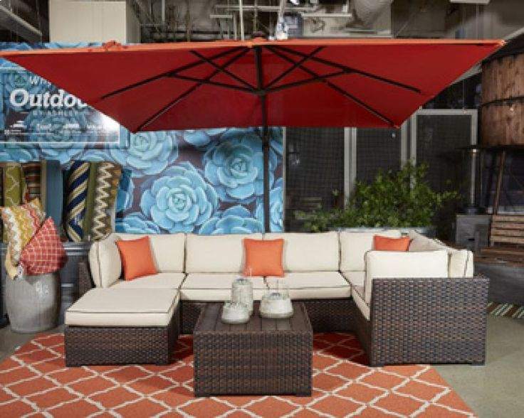 Modern Look To Add To Any Patio Only At Blake Furniture! Visit One Of Our