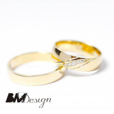 klasyczne obrączki ślubne z kamieniami na zamówienie z powierzonego materiału Rzeszów