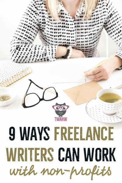 Great ways freelance writers can work with non-profits