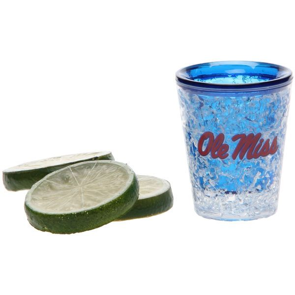 Ole Miss Rebels 2oz. Full Color Freezer Collector Glass - $6.99