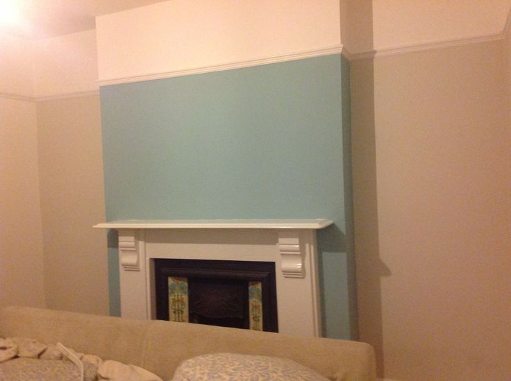 Best Living Room Feature Wall In Dulux Blue Reflection Ideas 400 x 300