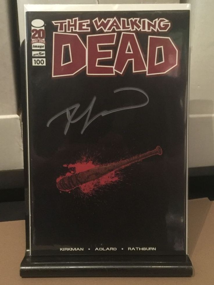 Image Comics' the Walking Dead #100 Lucille Retailer Variant SIGNED by Kirkman!