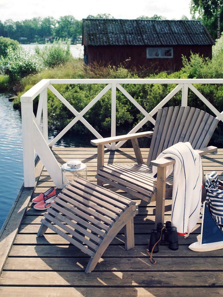 HOME & GARDEN: 25 inspirations pour un fauteuil Adirondack